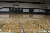 Pinedale High School Gym Floor